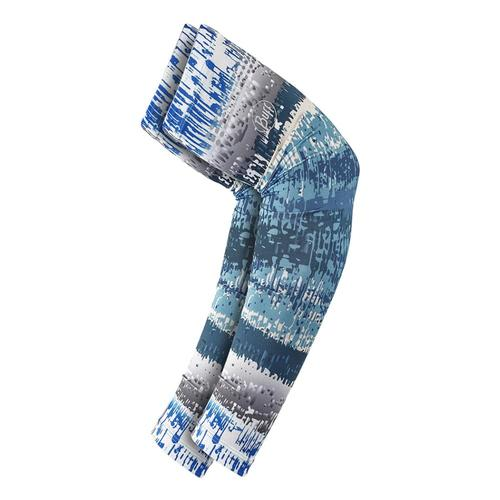 Buff Original UV Arm Sleeves - Aqua Glitch M/L Aquaglitch