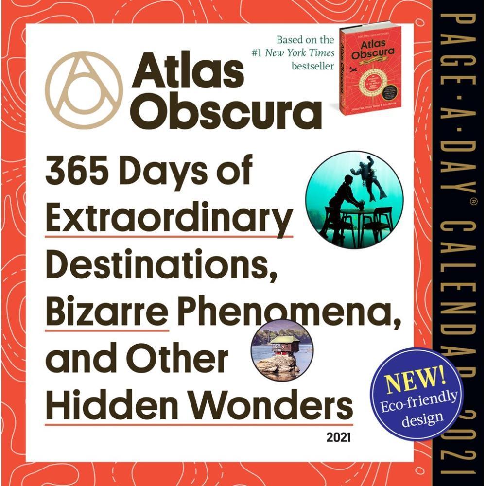 Whole Earth Provision Co. | Atlas Obscura Page A Day Calendar 2021