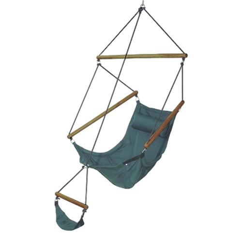 Byer of Maine Amazonas Swinger Hanging Chair Green