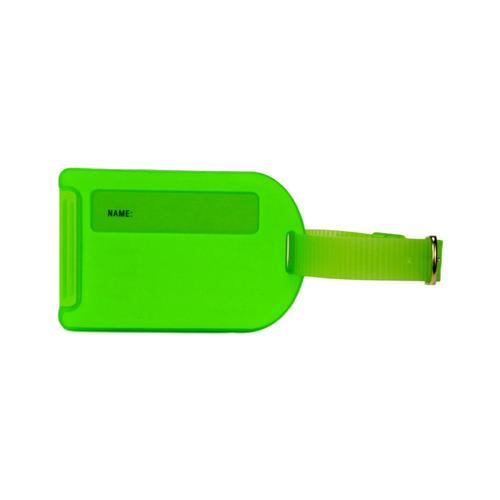 Voltage Valet Neon Luggage Tag - Green
