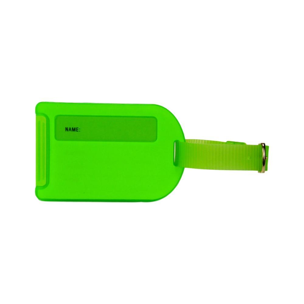 Voltage Valet Neon Luggage Tag - Green GREEN