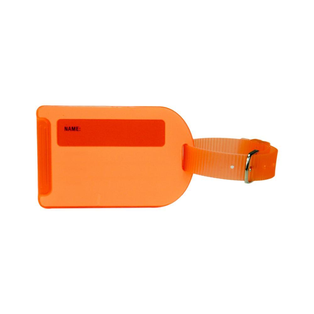 Voltage Valet Neon Luggage Tag - Orange