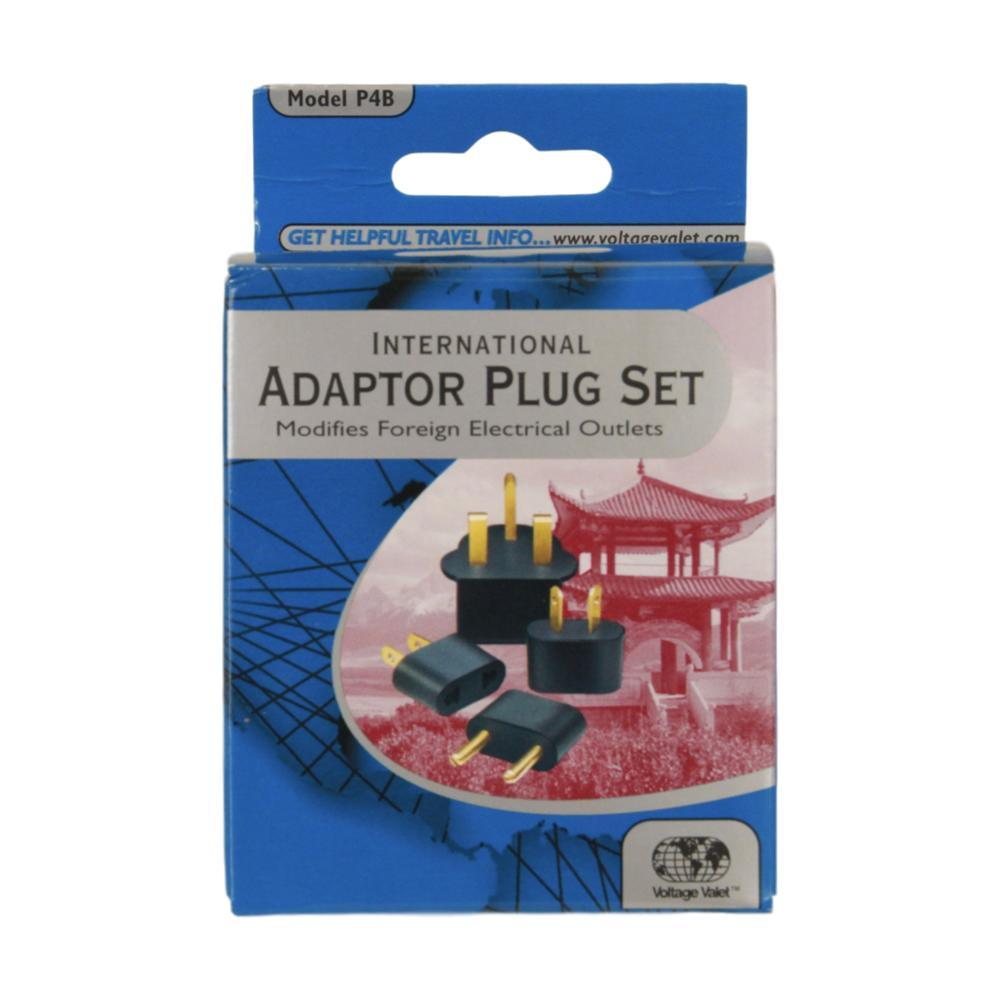 Voltage Valet P4b Set Of 4 Nongrounded Adaptor Plugs (Types : A, B, C, D)