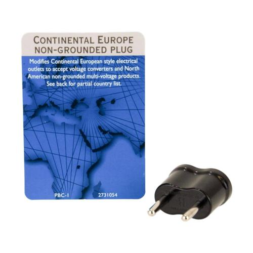 Voltage Valet PBC-1 Nongrounded Adaptor Plug - Continental Europe (Type B)