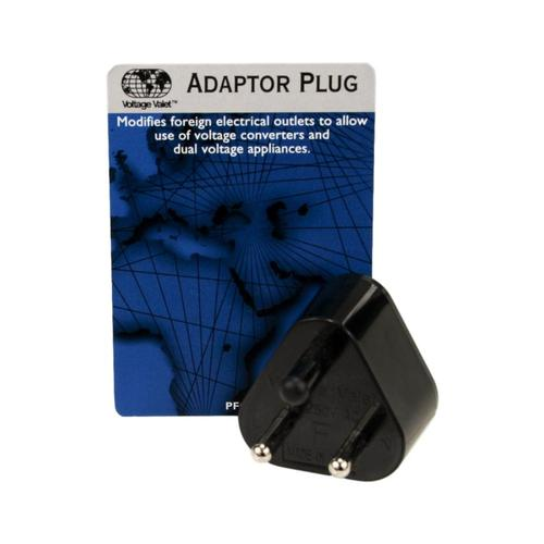 Voltage Valet PFC-1 Nongrounded Adaptor Plug - India/Middle East Type F