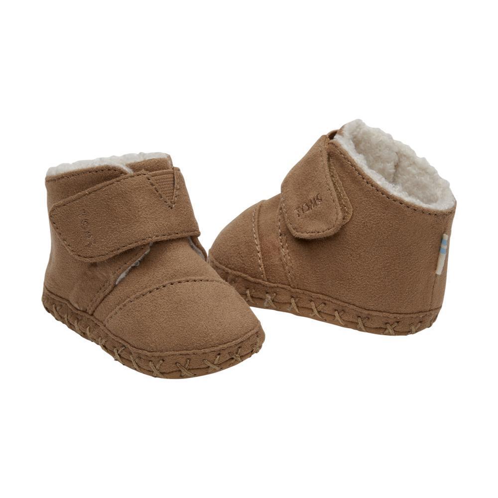 eb3021d4361 BOTTOM. PAIR. Toms Kids Toffee Microfiber Tiny Cuna Crib Shoes ...